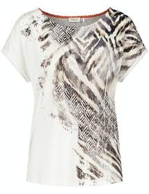 GERRY WEBER 570338-35138/9125 T-SHIRT DAMSKI MULTICOLOR