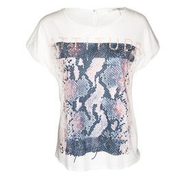 BETTY & CO 66/3315/1881 T-SHIRT DAMSKI KREMOWY
