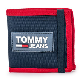 TOMMY JEANS AM0AM05020 901 TJM URBAN MINI COIN POCKET PORTFEL MĘSKI GRANATOWY