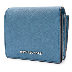 MICHAEL KORS JET SET TRAVEL 32T6STVD2L DENIM PORTFEL DAMSKI