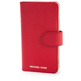 MICHAEL KORS ELEKTRONIC LATER 32S7GE7L4L BRIGHT RED ETUI IPHONE 7,7S CZERWONE