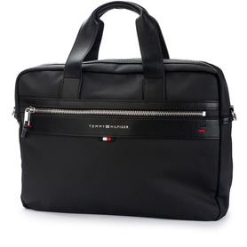 TOMMY HILFIGER AMOAMO3921 002 ELEVATED COMPUTER BA TORBA NA LAPTOPA MĘSKA CZARNA