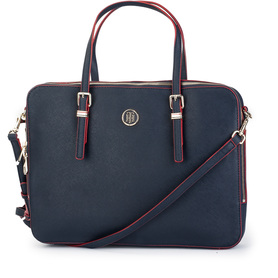 TOMMY HILFIGER AWOAWO5645 903 HONEY COMPUTER BAG TORBA NA LAPTOPA GRANATOWA