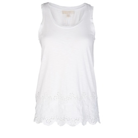 MICHAEL KORS MS65KZX4AG WHITE T-SHIRT DAMSKI
