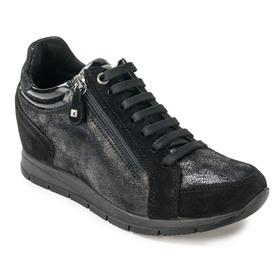 IMAC 63371 BLACK/BLACK SNEAKERSY DAMSKIE
