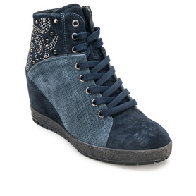 IMAC 62851 BLUE/BLUE SNEAKERSY DAMSKIE