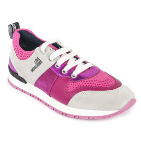 LOVE MOSCHINO JA15062G13 FUXIA SNEAKERSY DAMSKIE
