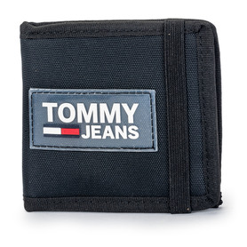 TOMMY JEANS AM0AM05020 002 TJM URBAN MINI COIN POCKET PORTFEL MĘSKI CZARNY