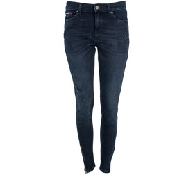 TOMMY JEANS DWODWO7319 1BJ MID RISE SKINNY 7/8 NORA JEANSY DAMSKIE